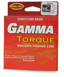 Gamma fishing line fluorocarbon braid