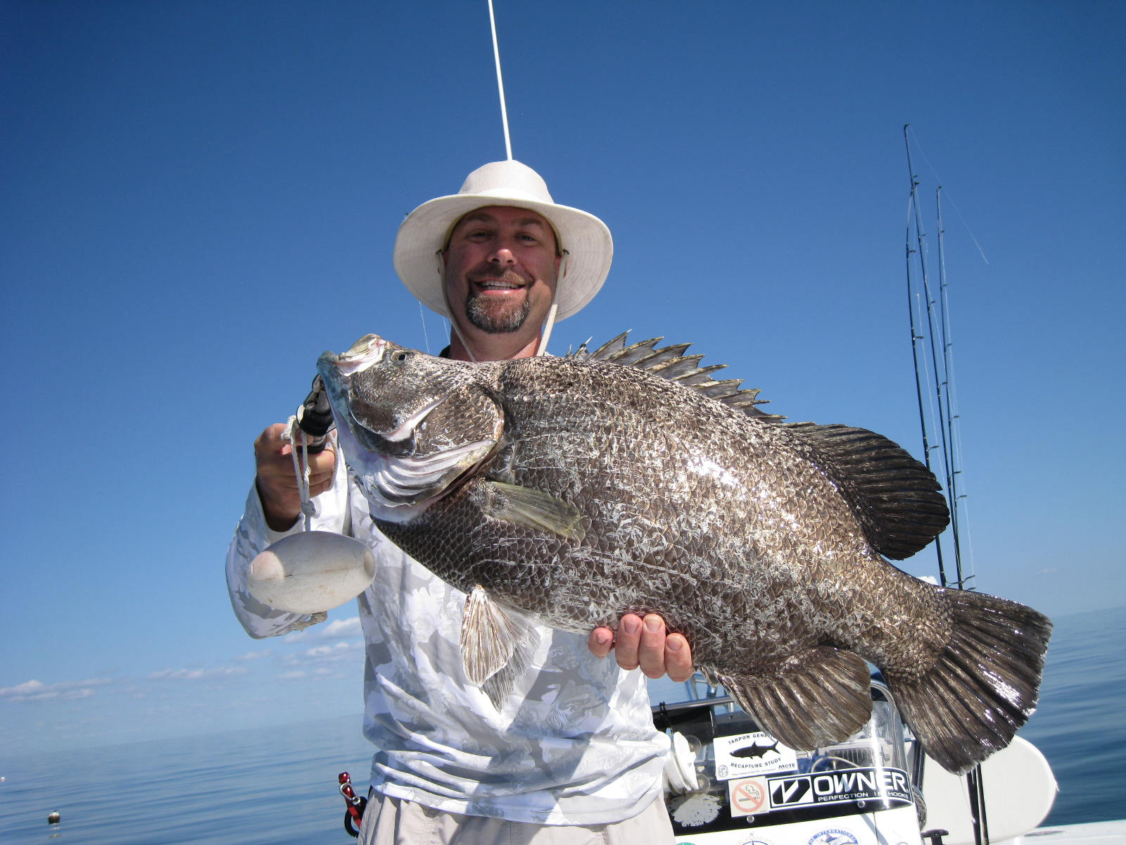 captain Pete Rapps tripletail chokoloskee everglades city goodland marco island fishing charters guide