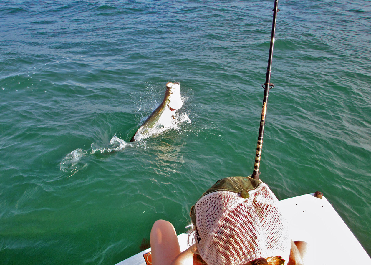 Bahia Honda Tarpon Charters in the florida keys