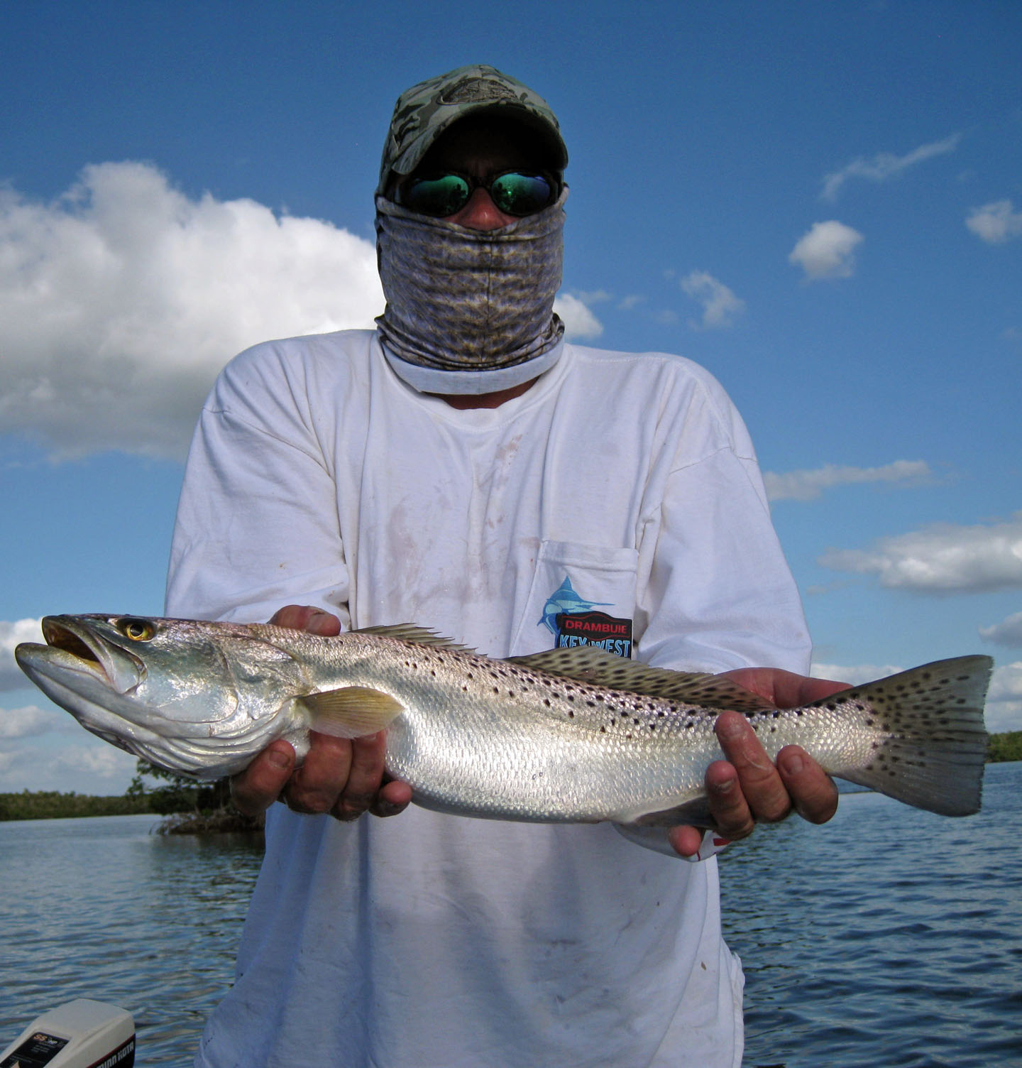 trout fishing charter guide everglades city chokoloskee marco island fl