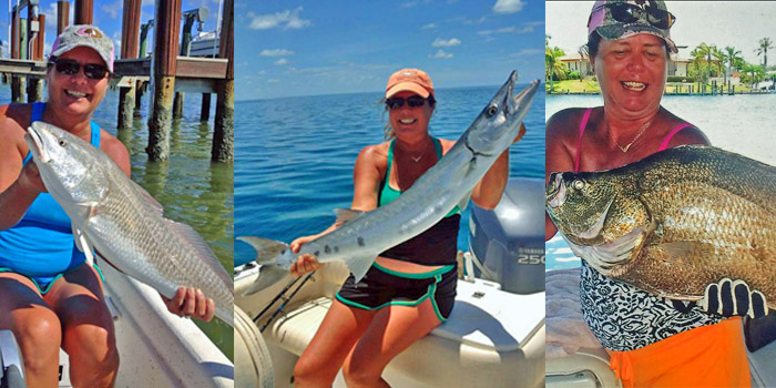 Lisa Graham Telephone booking manager captain rapps everglades fishing charters chokolosee marco island goodland florida