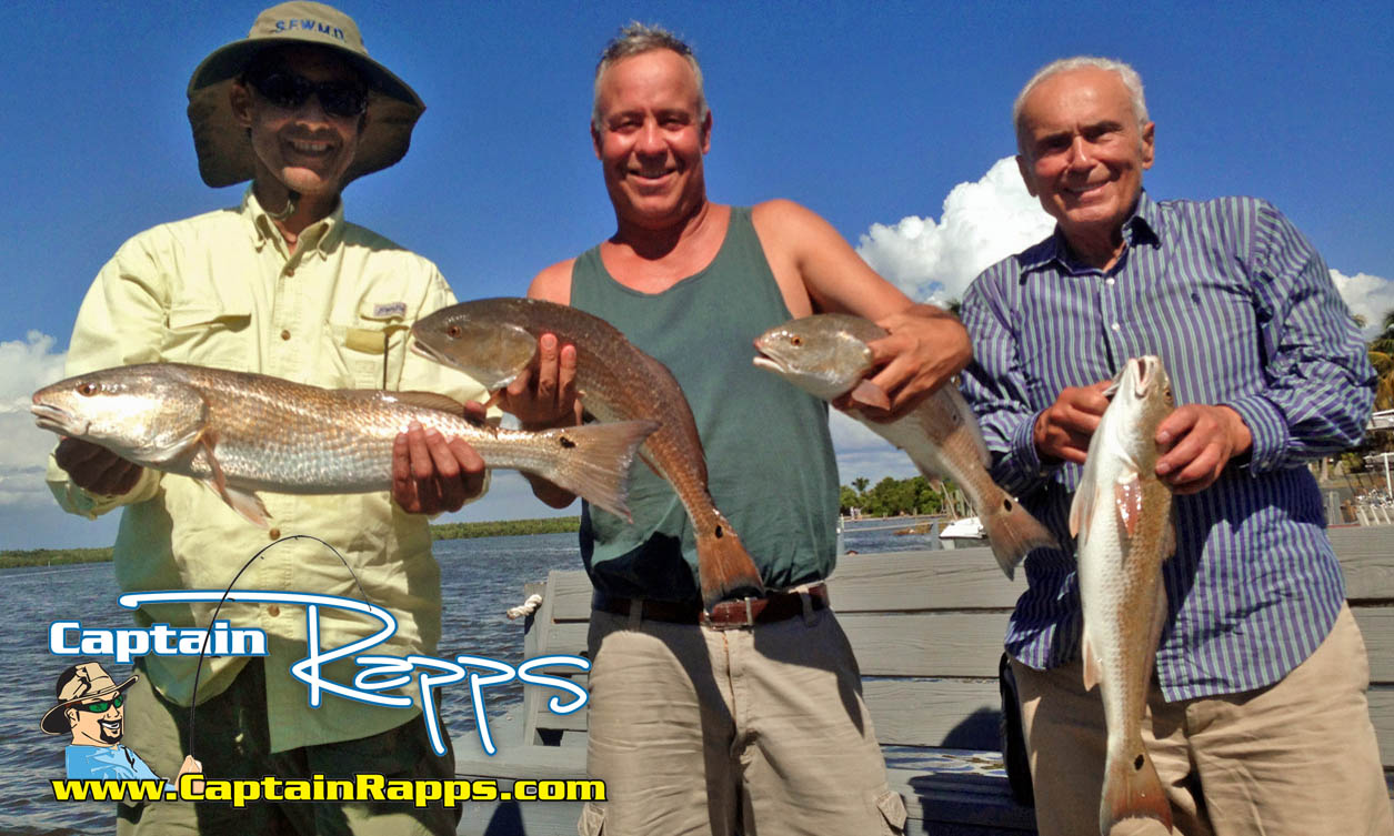 Ed Mennella redfish everglades city chokoloskee 10000 islands fishing charters