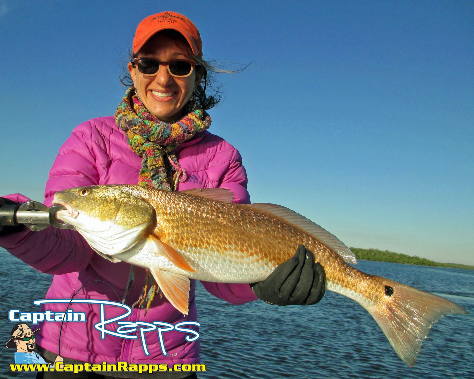 redfish everglades city chokoloskee fishing charters captain rapps