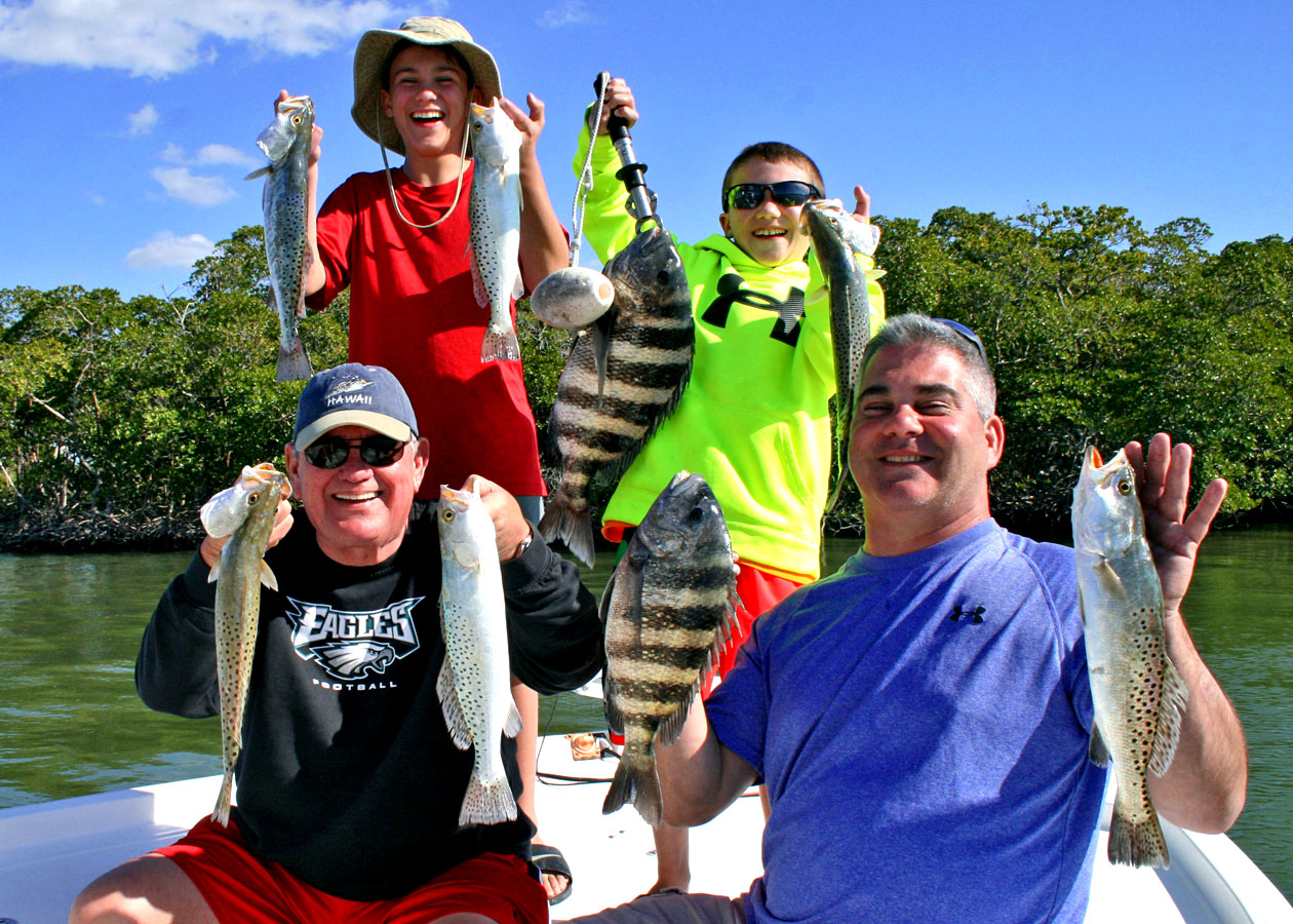 Chokoloskee everglades city fishing charters Capt Rapps
