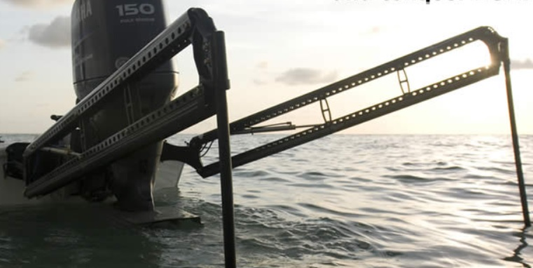 power pole jl marine shallow water anchor