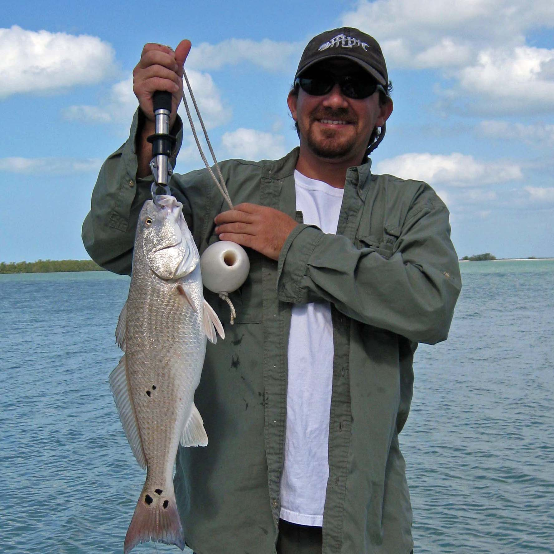 redfish chokoloskee 10000 islands fishing charter everglades city