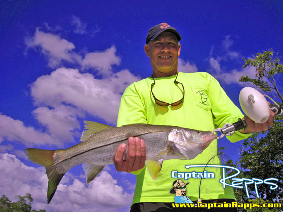 John Czencz on a captain rapps everglades city and chokoloskee fishing charter
