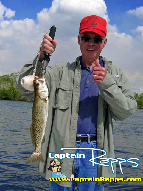 Larry with a captain rapps chokoloskee everglades national park 10000 islands fishing charter