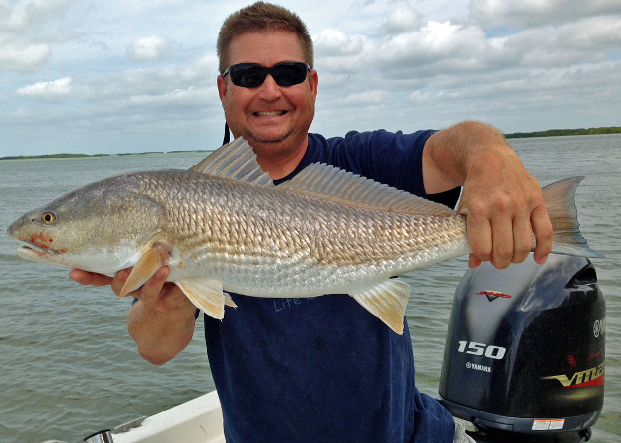 Capt John from Captain Rapps Charters with a nice slot size Redfish1