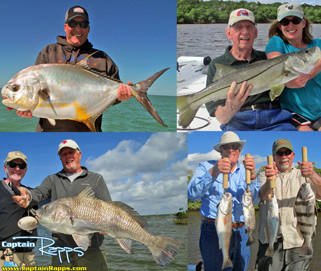 Fishing report everglades city chokoloskee 10000 islands