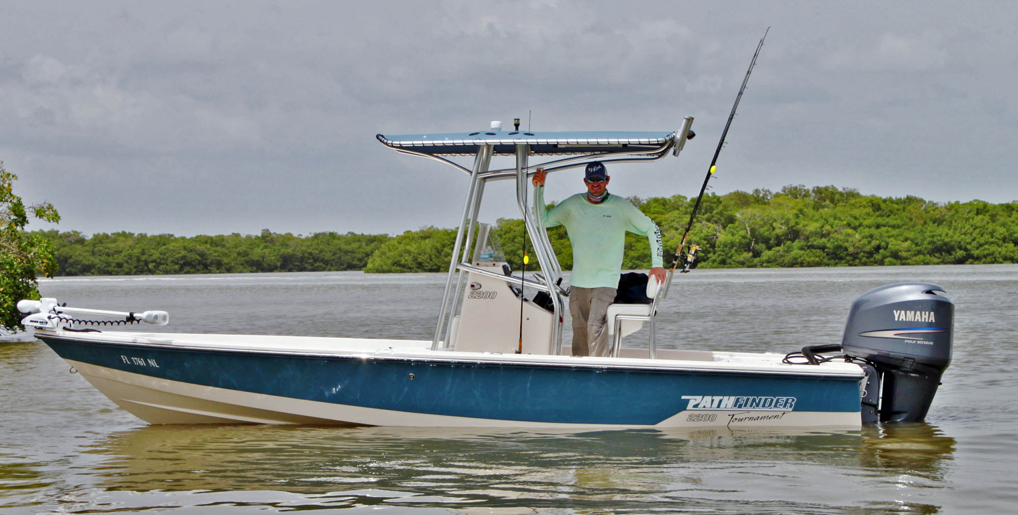 Captain James Webb Goodland everglades fishing charters