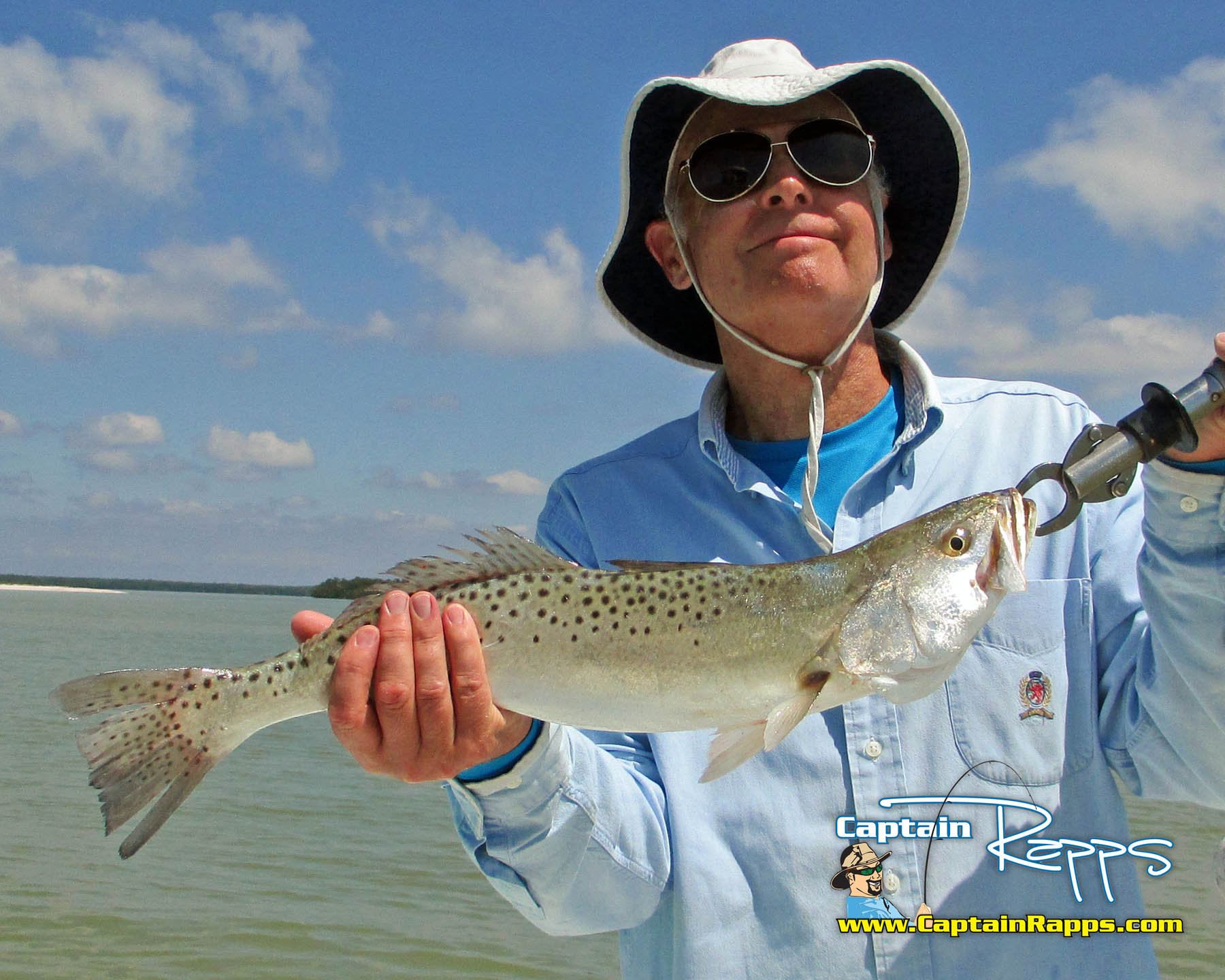 ted trout captain rapps everglades city chokoloskee fishing guide
