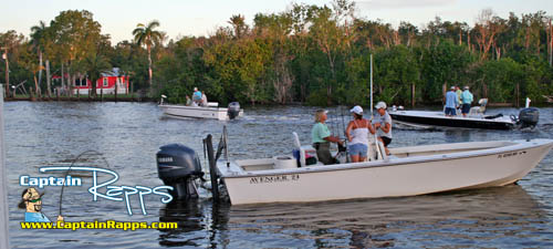 fishing club corporate groups charter fishing chokoloskee everglades city florida